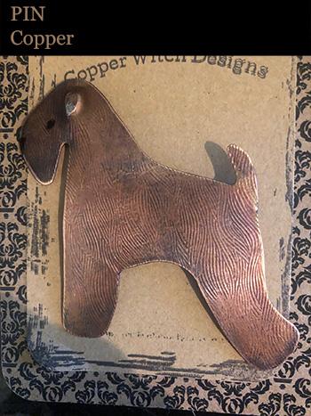 2019 Wheaten Pin (Copper)