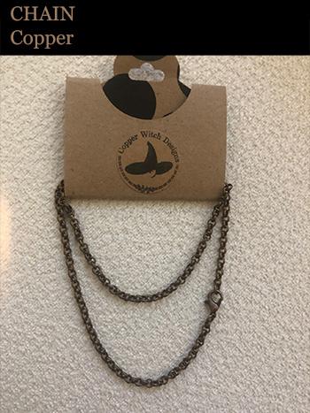 Wheaten Pendant - Copper Chain